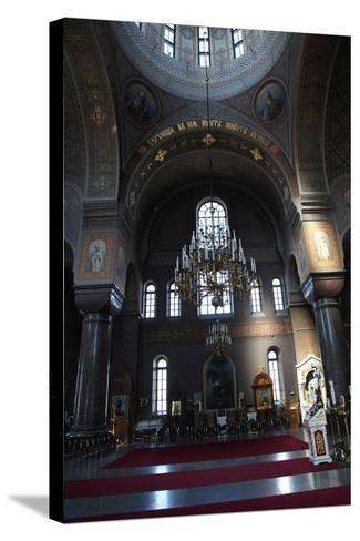 Interior, Uspenski Cathedral, Helsinki, Finland, 2011-Sheldon Marshall-Stretched Canvas Print