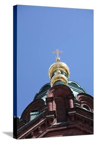 Dome, Uspenski Cathedral, Helsinki, Finland, 2011-Sheldon Marshall-Stretched Canvas Print