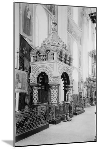 Minin's Tomb in the Saviour Cathedral in the Nizhny Novgorod Kremlin, Russia, 1896-Maxim Dmitriev-Mounted Giclee Print