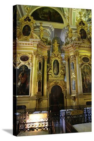 Iconostasis, Peter and Paul Cathedral, St Petersburg, Russia, 2011-Sheldon Marshall-Stretched Canvas Print