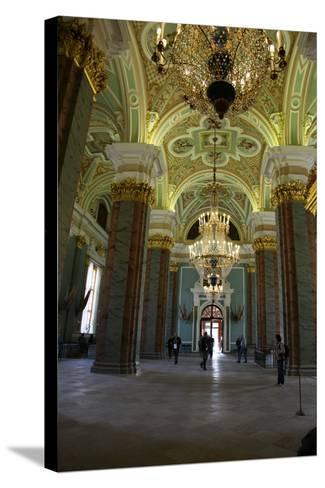 Interior, Peter and Paul Cathedral, St Petersburg, Russia, 2011-Sheldon Marshall-Stretched Canvas Print