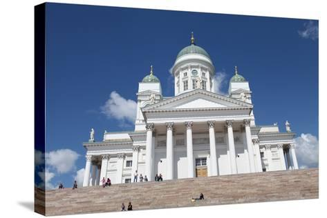 Lutheran Cathedral, Helsinki, Finland, 2011-Sheldon Marshall-Stretched Canvas Print