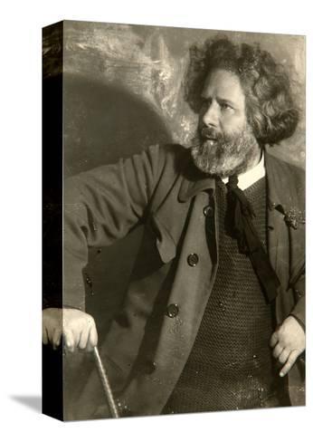 Maximilian Voloshin, Russian Poet, Early 1920S-Moisei Solomonovich Nappelbaum-Stretched Canvas Print