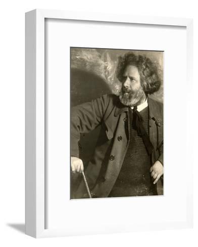 Maximilian Voloshin, Russian Poet, Early 1920S-Moisei Solomonovich Nappelbaum-Framed Art Print