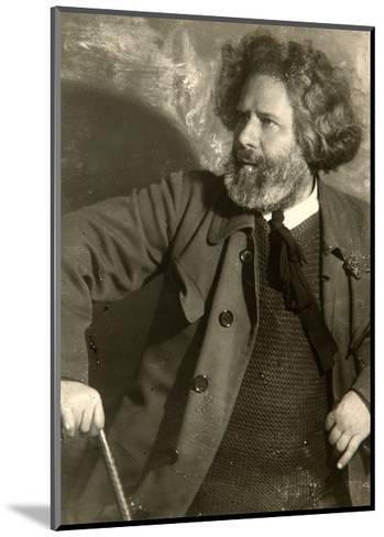 Maximilian Voloshin, Russian Poet, Early 1920S-Moisei Solomonovich Nappelbaum-Mounted Giclee Print