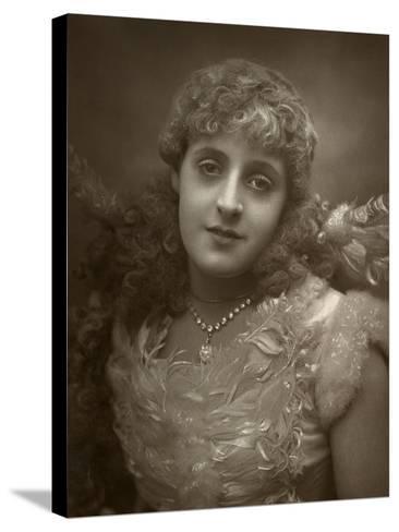 Phyllis Broughton, British Actress, 1884-Samuel A Walker-Stretched Canvas Print