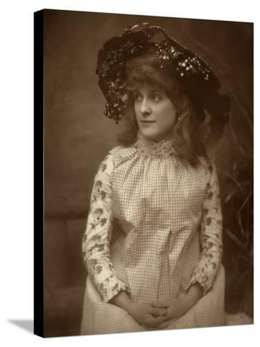 Minnie Palmer, American Actress, 1884-Samuel A Walker-Stretched Canvas Print