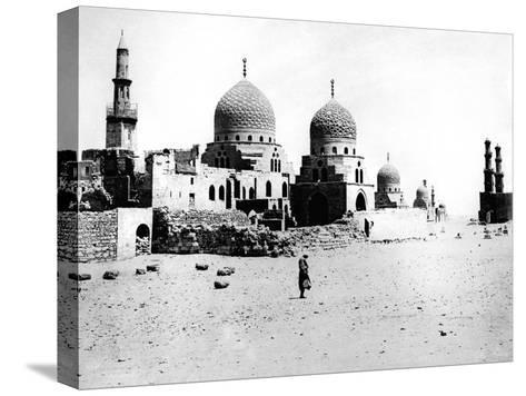 Mosque, Egypt, 1895- Zangaki-Stretched Canvas Print