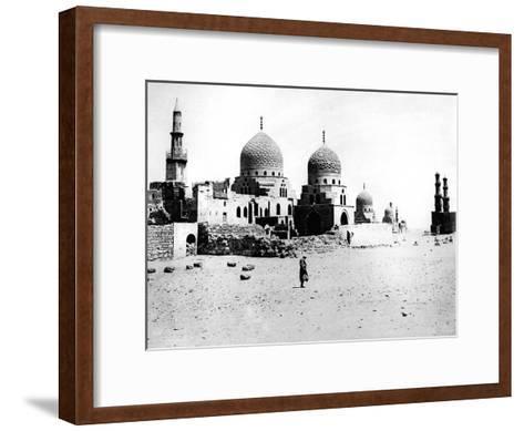Mosque, Egypt, 1895- Zangaki-Framed Art Print
