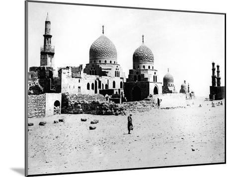 Mosque, Egypt, 1895- Zangaki-Mounted Giclee Print