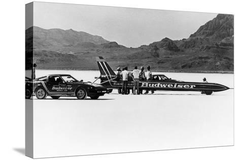 Budweiser Rocket, USA, 1979--Stretched Canvas Print