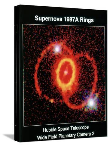 Remnant of Supernova 1987A--Stretched Canvas Print