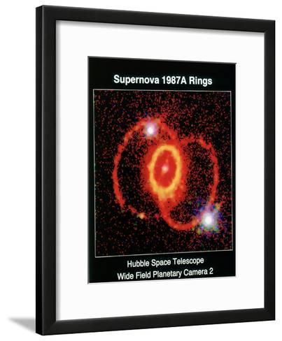 Remnant of Supernova 1987A--Framed Art Print