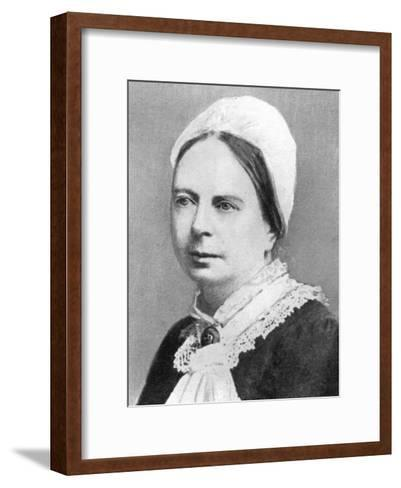 Frances Mary Buss (1827-189), English Pioneer of Women's Education, 1926--Framed Art Print