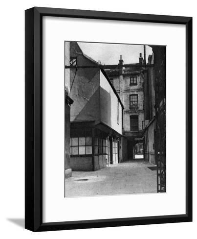 Calvert's Buildings, with a Courtyard Typical of the Old Borough High Street, London, 1926-1927- Whiffin-Framed Art Print