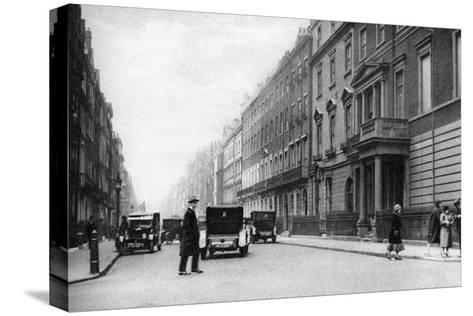 Harley Street, London, 1926-1927- Whiffin-Stretched Canvas Print