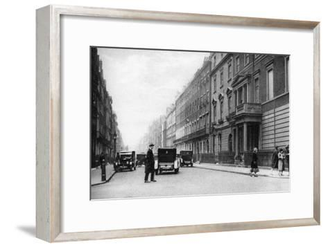 Harley Street, London, 1926-1927- Whiffin-Framed Art Print