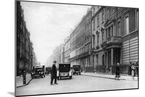 Harley Street, London, 1926-1927- Whiffin-Mounted Giclee Print