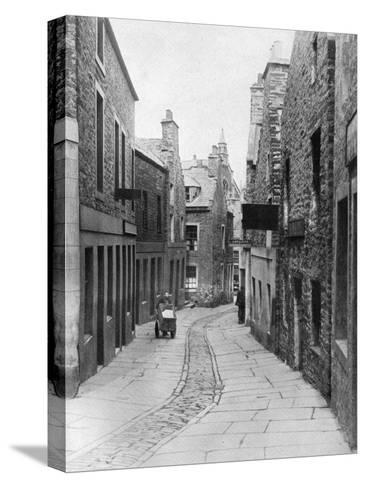 A Street in Stromness, Orkney, Scotland, 1924-1926-Thomas Kent-Stretched Canvas Print