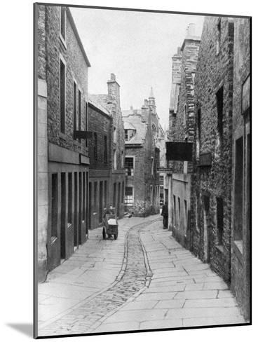 A Street in Stromness, Orkney, Scotland, 1924-1926-Thomas Kent-Mounted Giclee Print