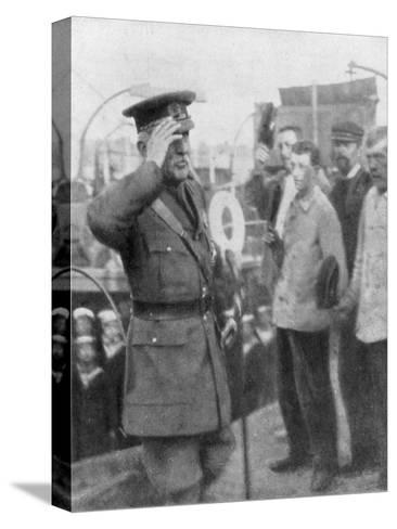 Douglas Haig, British First World War General, 1914--Stretched Canvas Print
