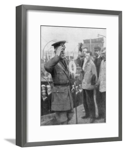 Douglas Haig, British First World War General, 1914--Framed Art Print