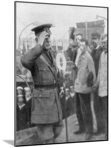 Douglas Haig, British First World War General, 1914--Mounted Giclee Print