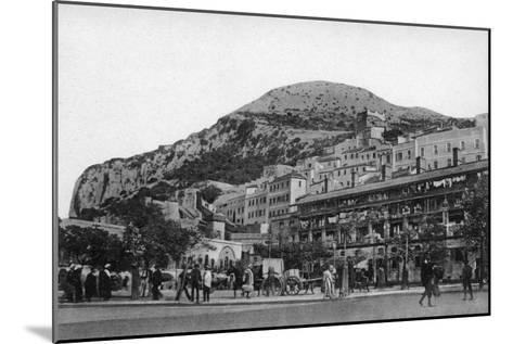 Casemates Square, Gibraltar, Early 20th Century-VB Cumbo-Mounted Giclee Print