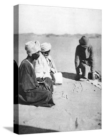 Mapping in the Sand, Halfa to Shellal, Egypt, 1926-Thomas A Glover-Stretched Canvas Print