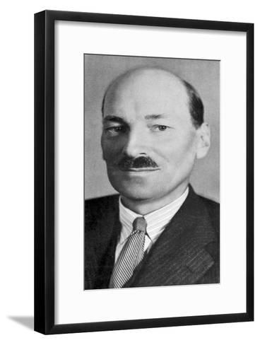 Clement Atlee (1883-196), British Labour Statesman--Framed Art Print