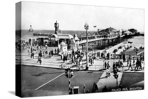 Palace Pier, Brighton, Sussex, Early 20th Century--Stretched Canvas Print