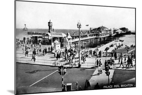 Palace Pier, Brighton, Sussex, Early 20th Century--Mounted Giclee Print