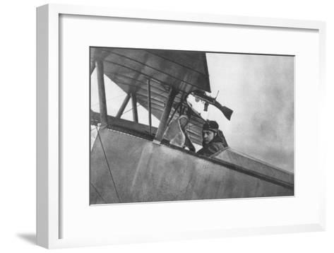 Georges Guynemer, French Fighter Ace, C1916--Framed Art Print