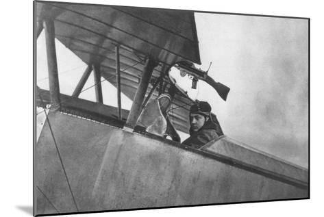 Georges Guynemer, French Fighter Ace, C1916--Mounted Giclee Print