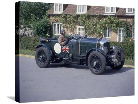 1931 Bentley 4.5 Litre Supercharged--Stretched Canvas Print