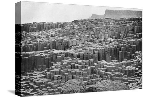 The Giant's Causeway, County Antrim, Northern Ireland, 1924-1926--Stretched Canvas Print