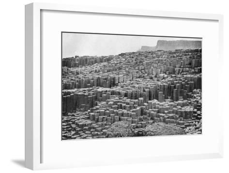 The Giant's Causeway, County Antrim, Northern Ireland, 1924-1926--Framed Art Print