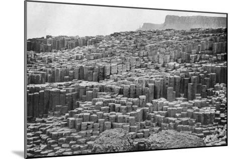 The Giant's Causeway, County Antrim, Northern Ireland, 1924-1926--Mounted Giclee Print