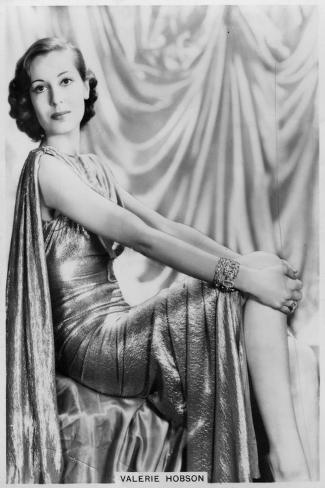 Valerie Hobson, British Actress, C1936-C1939--Stretched Canvas Print