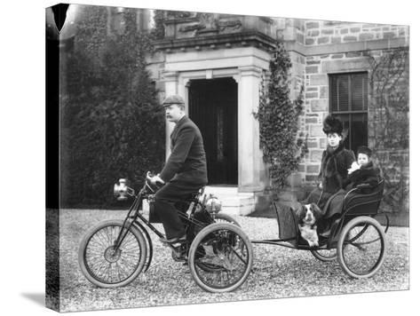 A De Dion Tricycle--Stretched Canvas Print