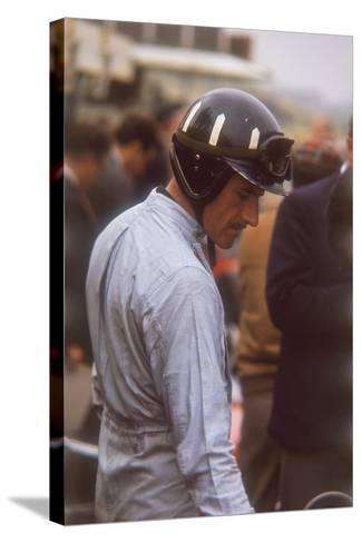 Graham Hill, Dutch Grand Prix, Zandvoort, 1964--Stretched Canvas Print