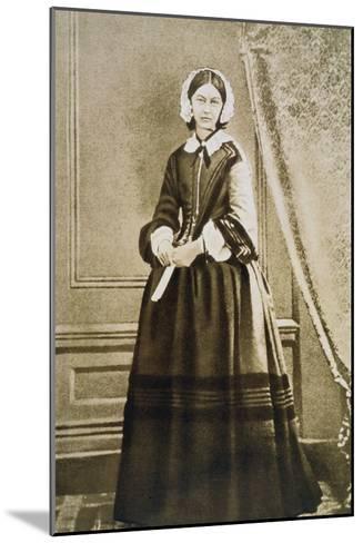 Florence Nightingale, English Nurse and Hospital Reformer, C1850S--Mounted Giclee Print
