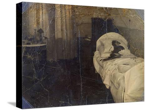 Room in the Mariinskaya Hospital Where Fyodor Kokoshkin Was Murdered, Petrograd, Russia, 1918--Stretched Canvas Print