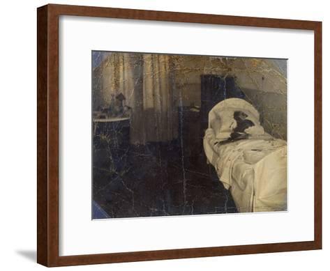Room in the Mariinskaya Hospital Where Fyodor Kokoshkin Was Murdered, Petrograd, Russia, 1918--Framed Art Print