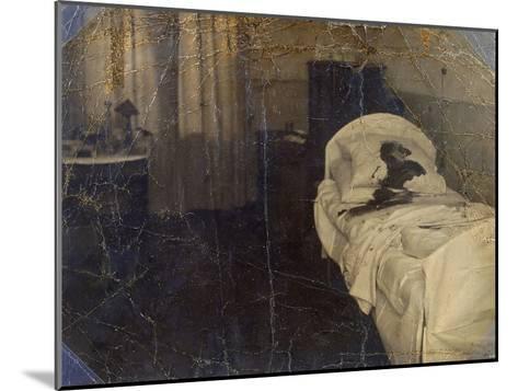 Room in the Mariinskaya Hospital Where Fyodor Kokoshkin Was Murdered, Petrograd, Russia, 1918--Mounted Giclee Print