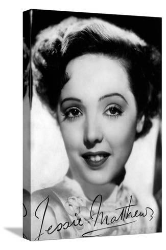 Jessie Matthews (1907-198), English Actress, Dancer and Singer, C 1930S-C1940S--Stretched Canvas Print