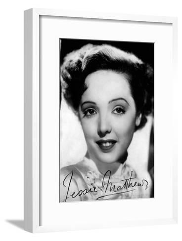 Jessie Matthews (1907-198), English Actress, Dancer and Singer, C 1930S-C1940S--Framed Art Print