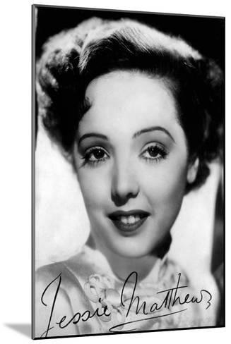 Jessie Matthews (1907-198), English Actress, Dancer and Singer, C 1930S-C1940S--Mounted Giclee Print