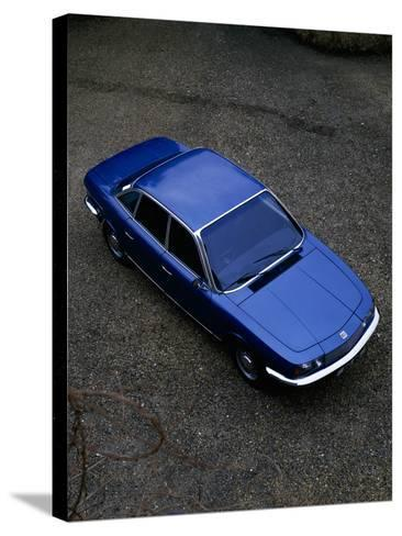 A 1974 NSU (Neckarsulm Strickmaschinen Union) RO 80 Viewed from Above--Stretched Canvas Print