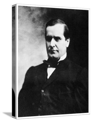 William Mckinley, 25th President of the United States, 19th Century-MATHEW B BRADY-Stretched Canvas Print